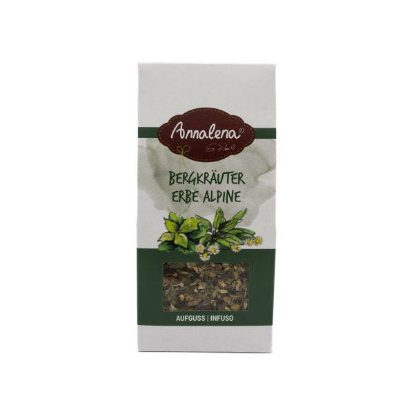 Infuso erbe alpine